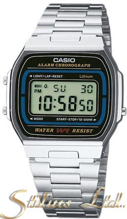 Часовник CASIO Модел - A164WA-1VES