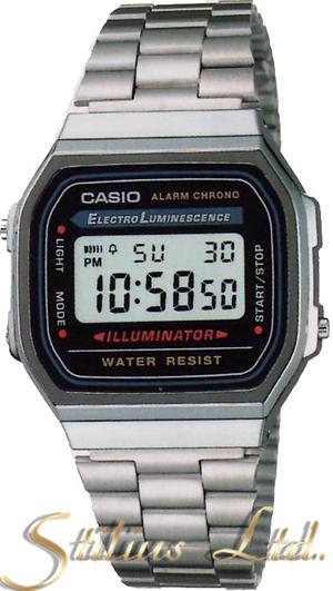 Часовник CASIO МОДЕЛ - A168WA-1A