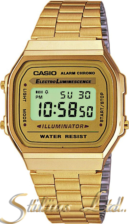 Часовник CASIO Модел - A168WG-9WDF