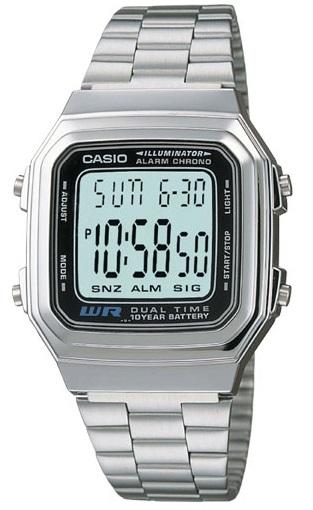 Часовник CASIO МОДЕЛ - A178WA-1A