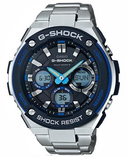Часовник CASIO Модел - GST-W100D-1A2ER