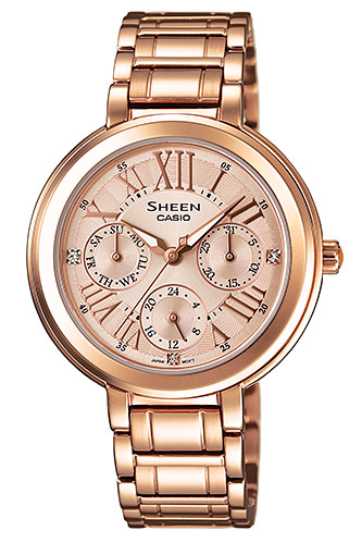 CASIO МОДЕЛ SHE-3034PG-9A